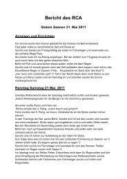 Sannen 2011 - Racing Club Airbag