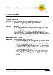 6. Jahresbericht 2012 - NAAL