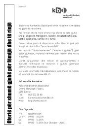 Ofertë për shumë gjuhë për fëmijë dhe të rinjë - Kantonsbibliothek ...