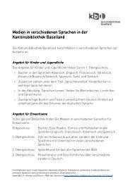Allgemeine Informationen für Erwachsene (deutsch)