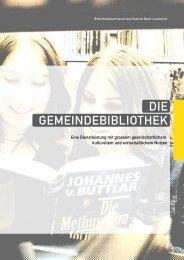 GEmEiNDEBiBLiothEK DiE - Kantonsbibliothek Baselland
