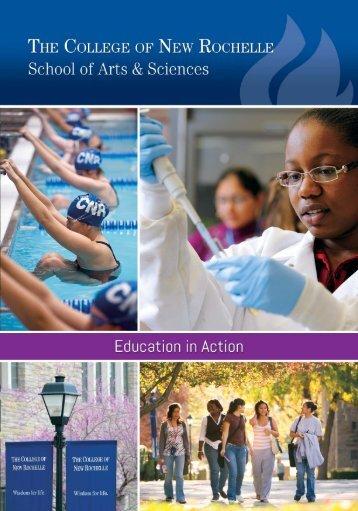 School of Arts & Sciences - Academic Departments and Programs ...