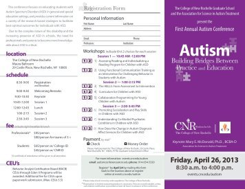 Form - Events at The College of New Rochelle