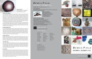 View the brochure for Debris Field - Castle Gallery - College of New ...