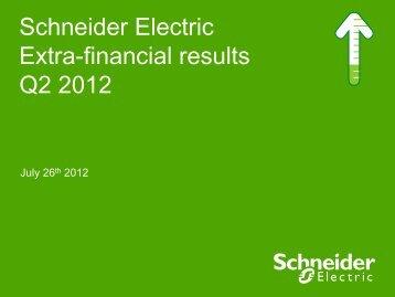 Download the presentation (PDF - 323 Kb) - Schneider Electric