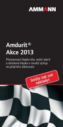 Amdurit ® Akce 2013 - Ammann Group