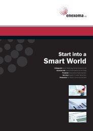 Start into a Smart World - enexoma AG