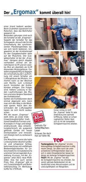 Selbermachen Top oder Flop - Werkzeug-home.de