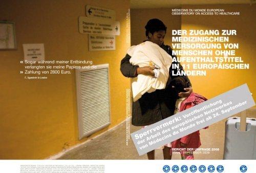 Kompletter Bericht - Ärzte der Welt e.V.