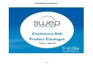 Download latest catalogue - SWEP