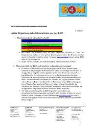 FAQ - BOM für Neuenrade und Werdohl