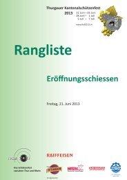 Rangliste Eröffnungsschiessen 25 m TKSF 2013 (PDF, 590 KB)