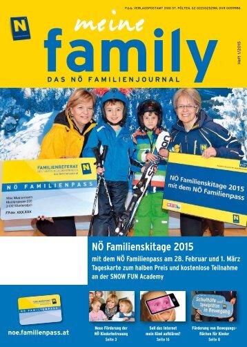 Artikel 1-2015, family Magazin