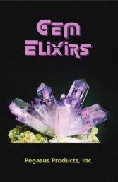 Gem Elixirs Booklet - Pegasus Products