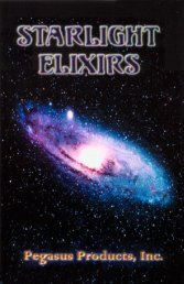 Starlight Elixirs Booklet - Pegasus Products