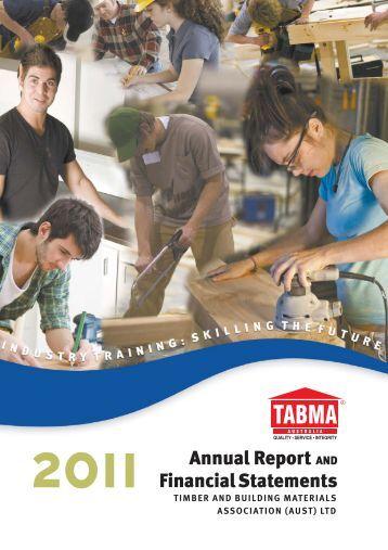 2011 TABMA Annual Report