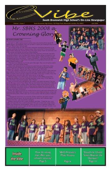 April - South Brunswick Public Schools