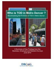 Who is TOD in Metro Denver