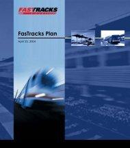 Original 2004 FasTracks Plan