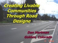 Creating Healthy, Livable and Viable Communities thorugh Street ...