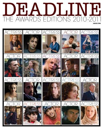 THE AWARDS EDITIONS 2010-2011