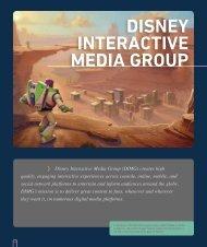 DISNEY INTERACTIVE MEDIA GROUP - Go.com