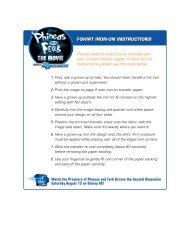 T-SHIRT IRON-ON INSTRUCTIONS - Go.com