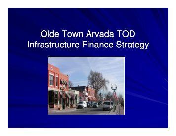 Arvada - Transit-Oriented Development