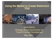 Presentation - DRCOG - Transit-Oriented Development