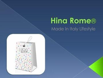 HINA rome lifestyle
