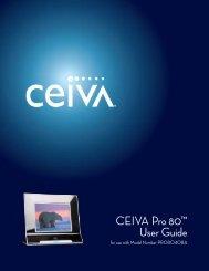 CEIVA Pro 80™ User Guide