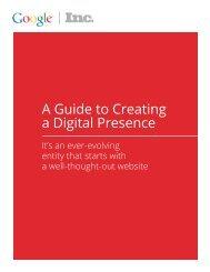 Google - A Guide to Creating a Digital Presence.pdf - Inc.com