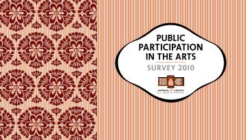 PARTICIPATION - National Arts Council of South Africa (NAC)