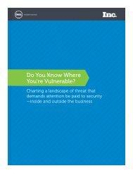 Do You Know Where You're Vulnerable? - Inc.com