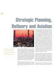 Strategic Planning, Refinery and Aviation - SPC