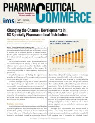 Changing the Channel: Developments in US Specialty ...