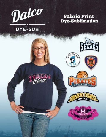 2011 Dalco Fabric Print Dye-Sub Brochure - Dalco Athletic