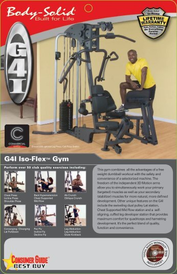 body solid life flex gym manual