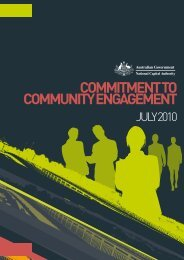 Commitment to Community Engagement - the National Capital ...