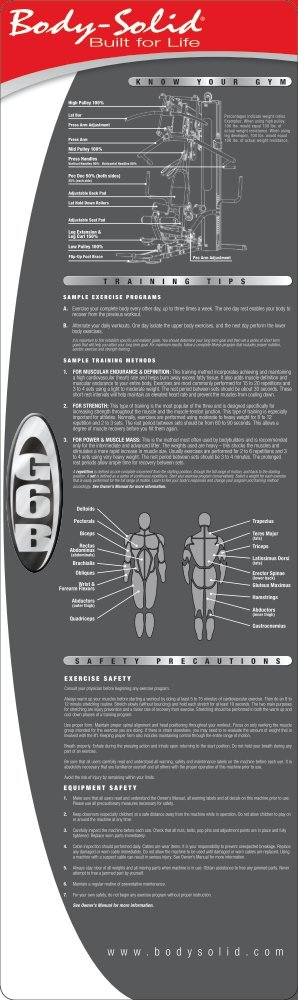 to download the brochure. - Body-Solid
