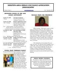 Enjoy Volume 4, Issue 3 (July - September 2010) - Huldadancers.com