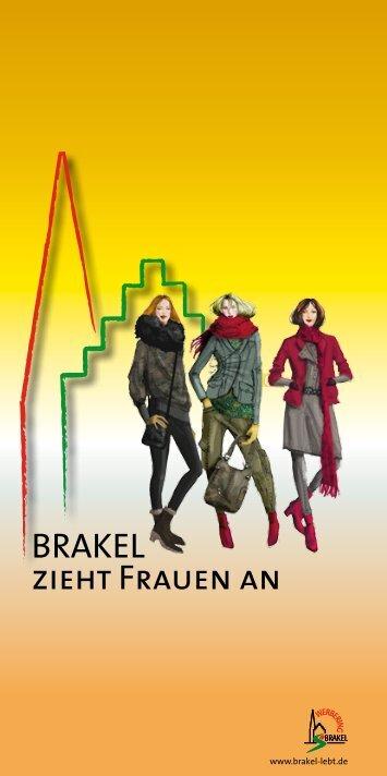 BRAKEL zieht Frauen an - Werbering Brakel