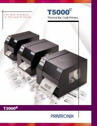 T5000e - Printronix - Vecmar Computer Solutions