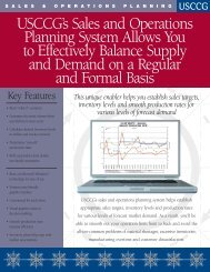 Sales and Operations Planning PDF - USC Consulting Group