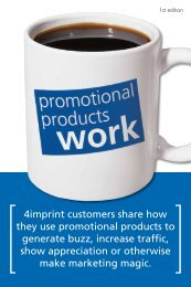 1st Edition - 4imprint Promotional Products Blog