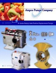 Ampco ZL Series - Positive Displacement Pumps - Condit Company