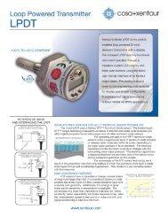 COSA Xentaur Dew Point Meter Model LPDT - Condit Company
