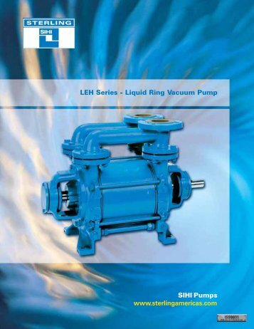 SIHI LEH Series - Vacuum Pumps - Condit Company
