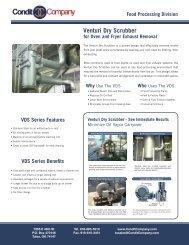 Venturi Dry Scrubber - Condit Company