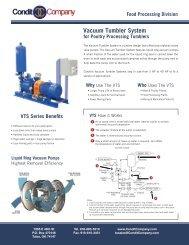 Vacuum Tumbler System - Condit Company